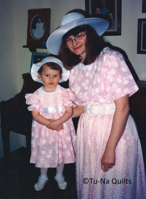 Easter matching dresses 1c