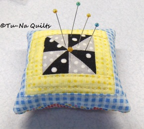 "3.5"" Pretty Pillow Pincushion"