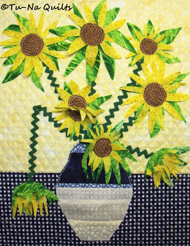 for sunflowers pin a easy quilts fabric quilt make using shown by line treasures sunflower pre to chong cjc hwang printed timeless is pattern gold wild panel