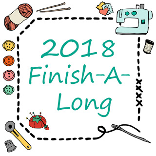 2018 Finish A Long Logo
