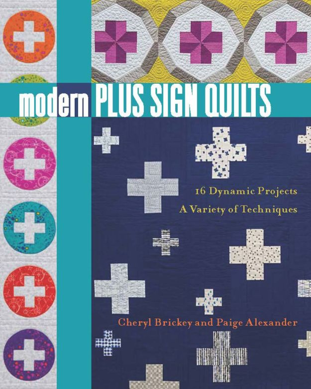 Modern Plus Sign Quilts Cover